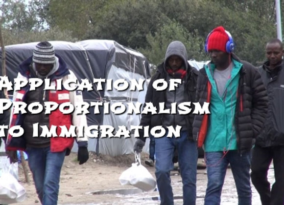 The Application of Proportionalism to the Issue of Immigration (film 3)