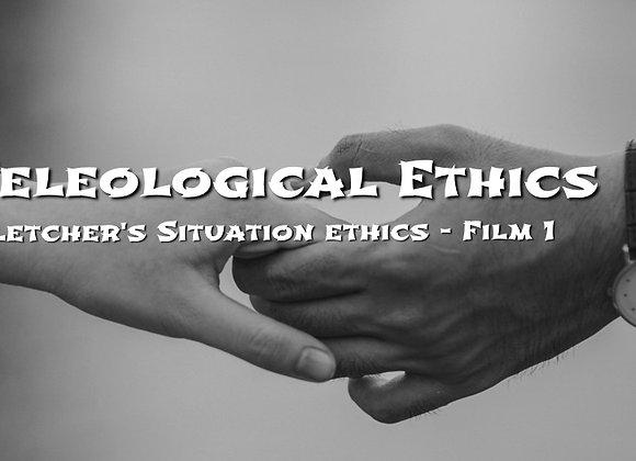 Fletcher's Situation Ethics - Film 1