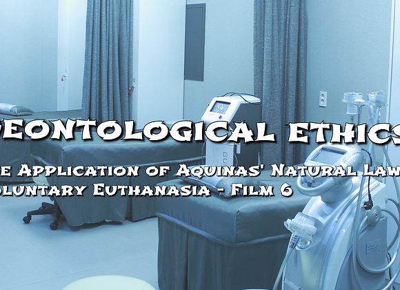 Aquinas' Natural Law - Euthanasia