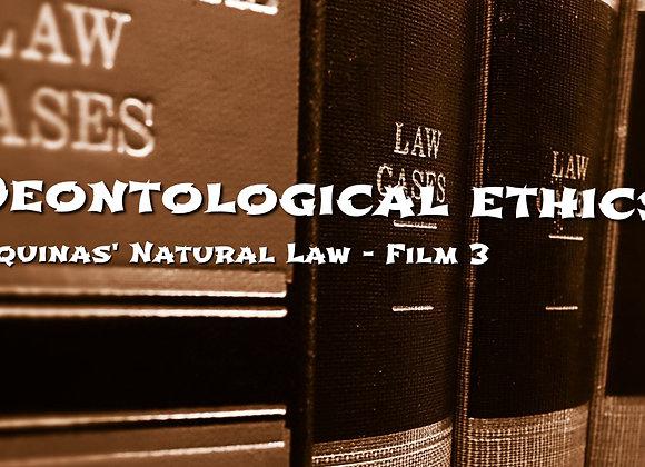 Aquinas' Natural Law - Virtues