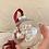 Thumbnail: Custom Hand Lettered Large Ornament