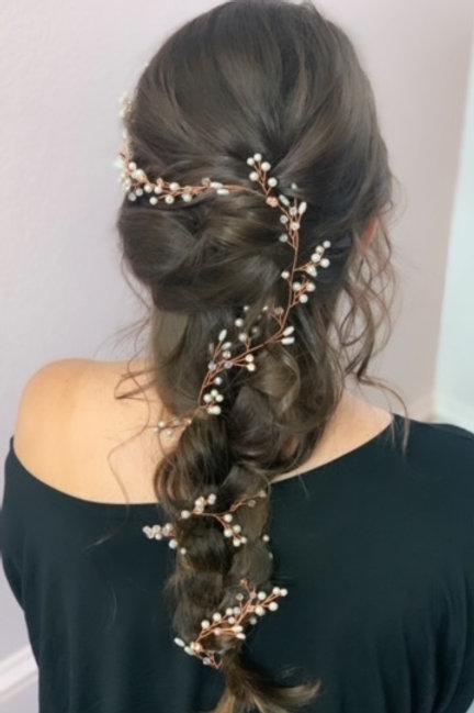 Bridal Hair Jewels Braid Wrap