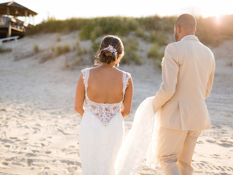OBX Wedding at Pelican's Landing | Adriana + Victor