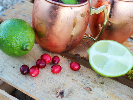 CRAN-POMEGRANATE MOSCOW MULE COCKTAIL