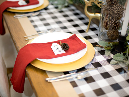 Holiday Table Decor