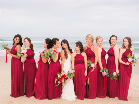 Sachi + Patrick | Outer Banks Wedding at The Sound to Sea Event Home