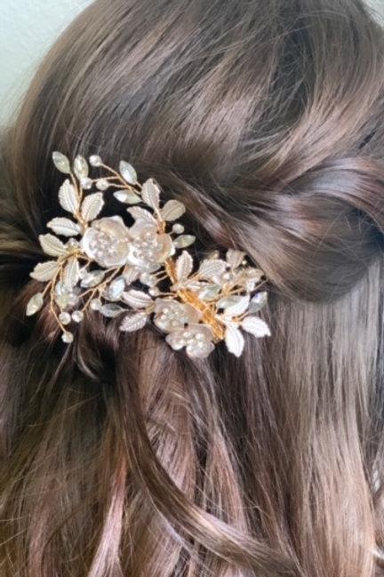 Large Bridal Hair Clip