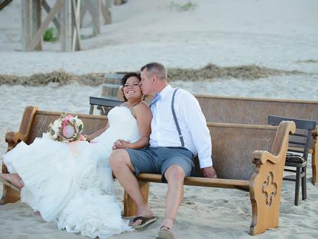 Aryanna & Daren | Corolla Beach Wedding
