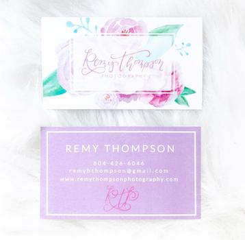 Remy Thompson Photography Brand + Website Design
