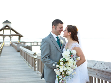 OBX Wedding at the NC Aquarium | Erin + Jason