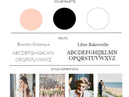 WEBSITE DESIGN | GLIMMER HAIR & MAKEUP