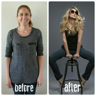 """Feeling beautiful after babies - My """"mum makeover"""""""