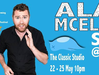 Alan McElroy - is S#it at Twitter -  Comedy Review