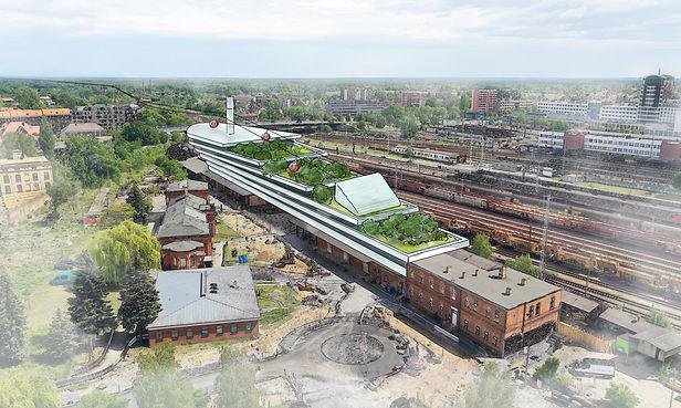 Plan einer urbanen Seilbahn in Cottbus