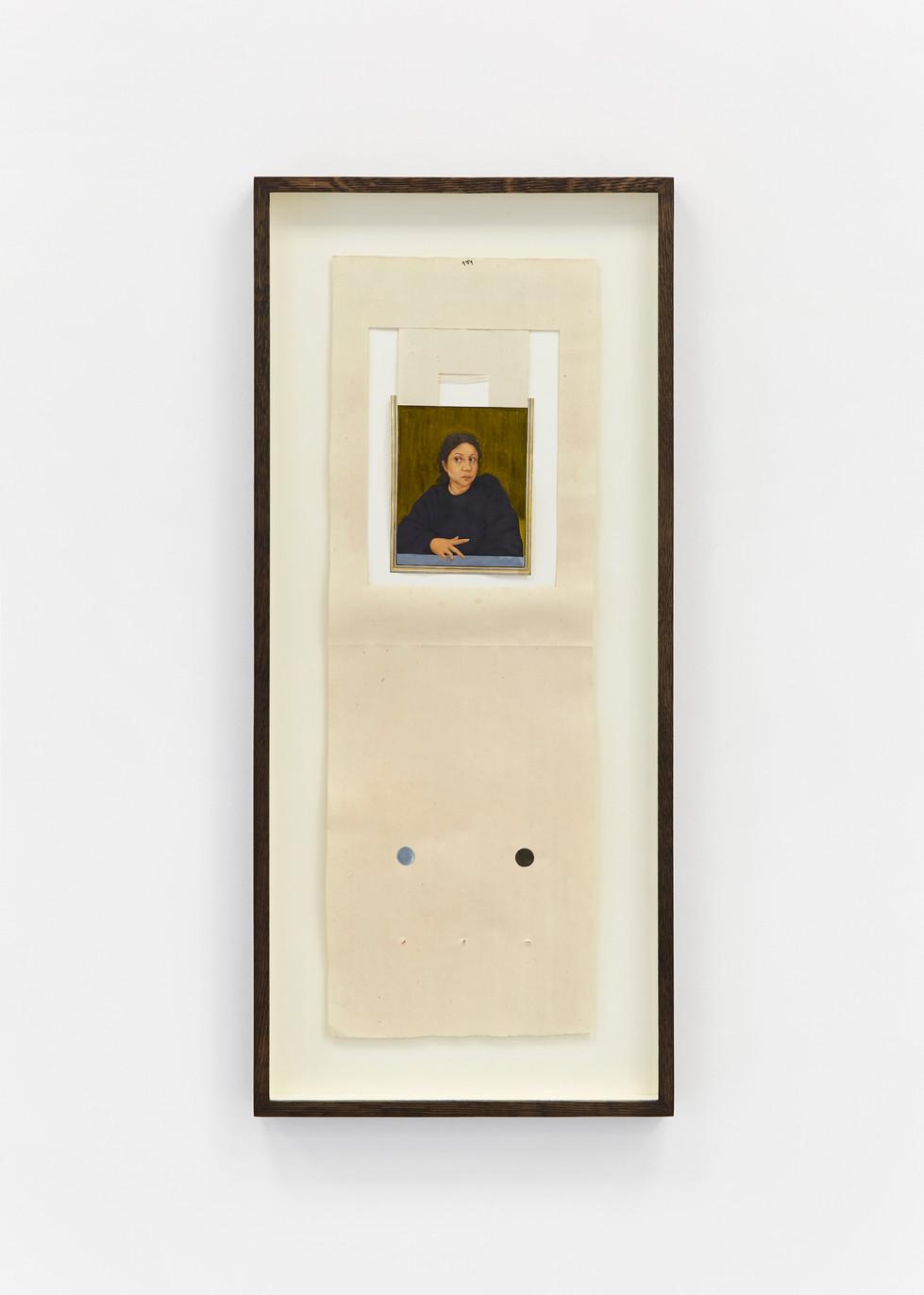 Self Portrait in Miniature