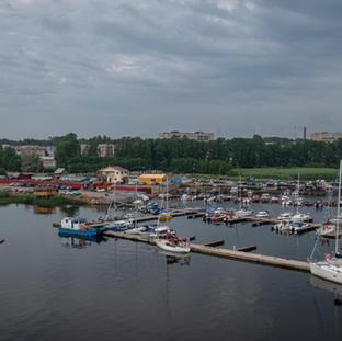 28.6. Kirkkolahden venesatama.