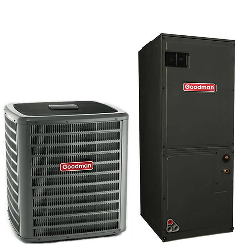 2.5 ton Goodman Split System Heat Pump