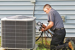 Neighborhood AC Service Technician maint
