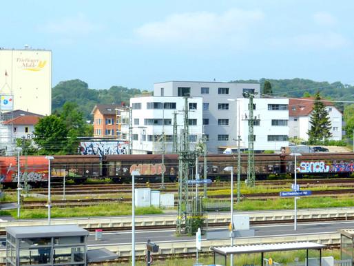 Neubau Penthouse-Büroeinheit direkt am Hauptbahnhof in Bad Friedrichshall zu vermieten!