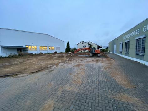 """Unser neues Bürogebäude in Leingarten – Der erste """"Schritt"""" ist getan!"""