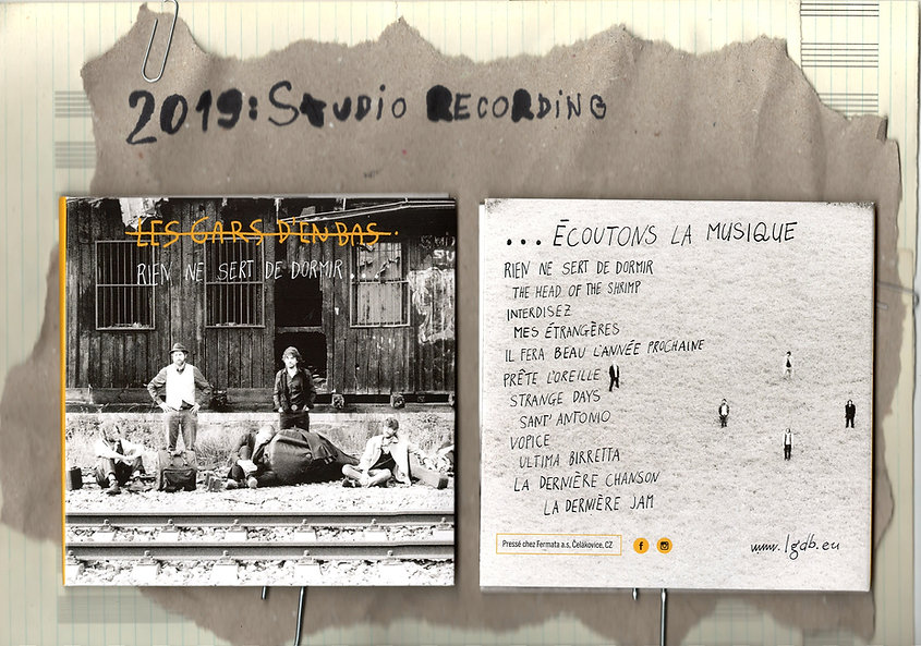Les Gars d'en Bas New CD