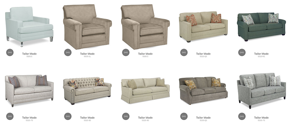 Chairs and Sofa's