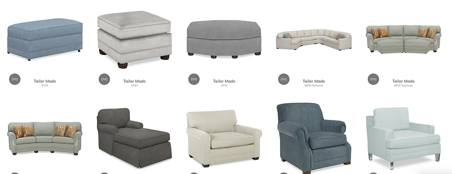 Sectionals, Chairs, Chaises