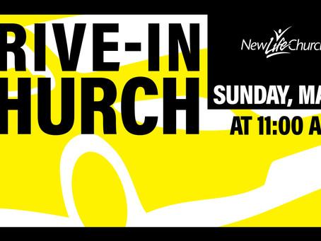 Drive-In Sunday Service