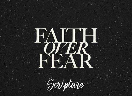 Faith Over Fear Scripture