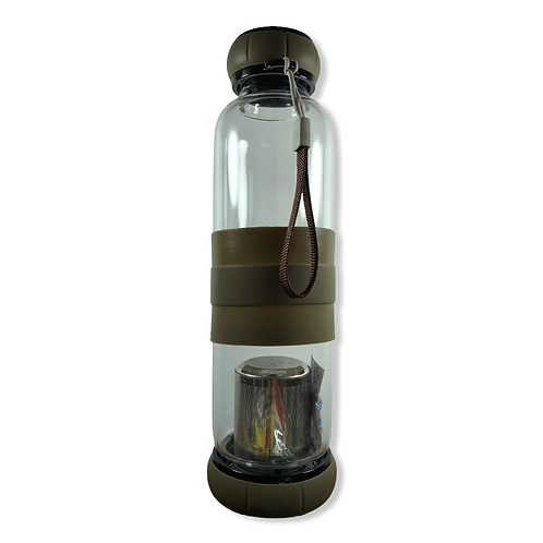 Tea Bottle MARRON 550ml con Infusor