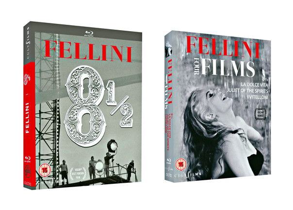 Cult Films Celebrates Fellini's 100th Anniversary With Two New Blu-ray Releases