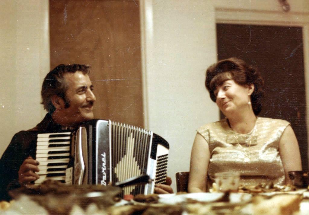Dad Serenading Mom [Late 60s]