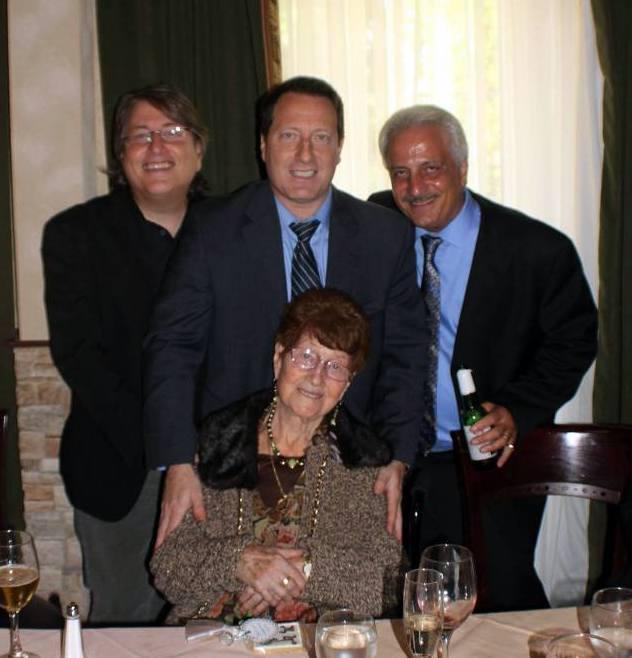 Vinnie, Anthony, Joey and Mom [2013]