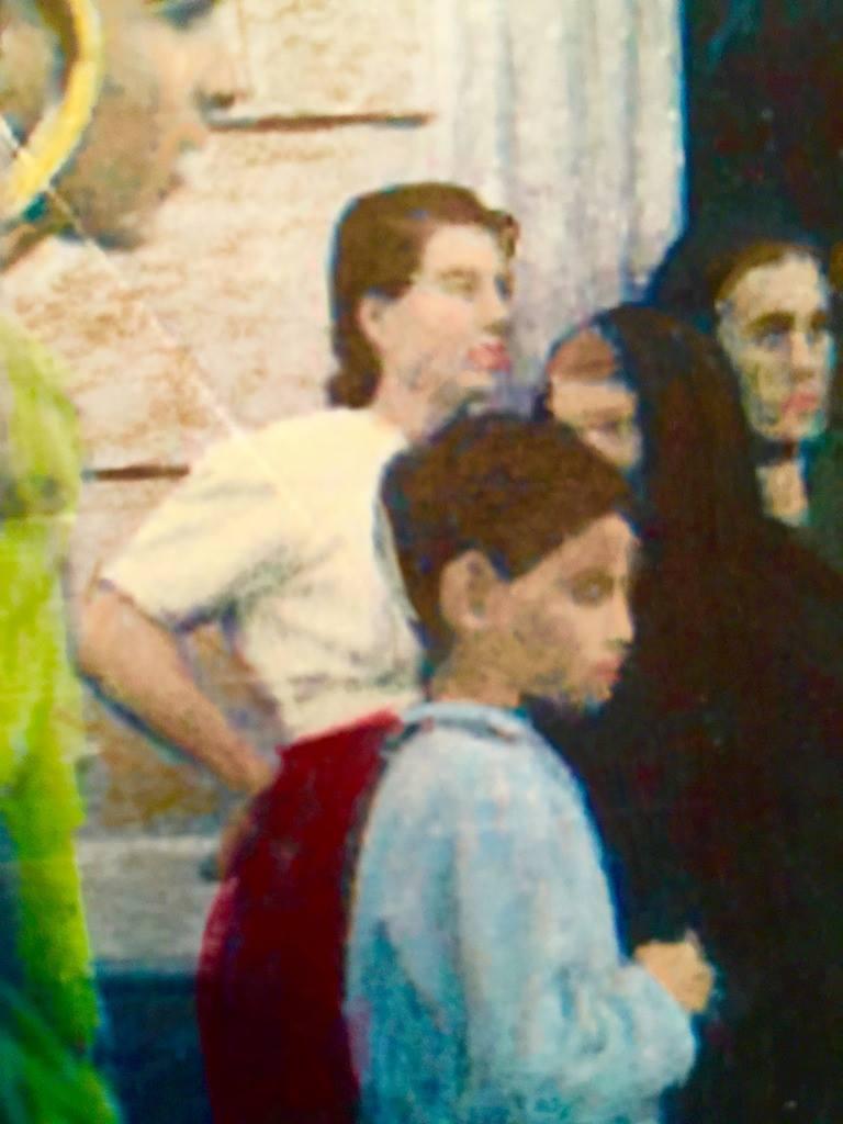 Mom In Fardella  [Colorized]