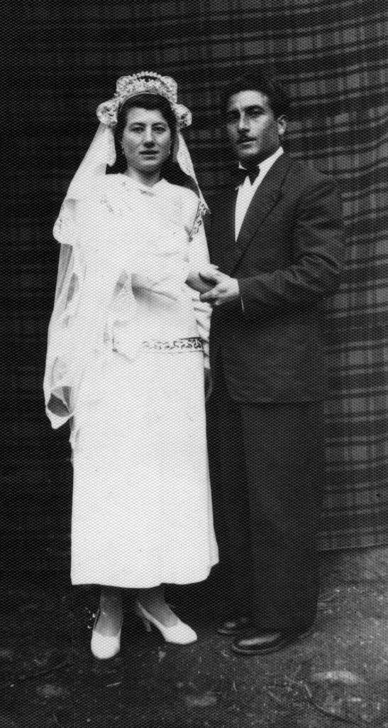 Mom and Dad's Wedding Day [01/28/50]