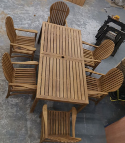 waxed garden furniture 2