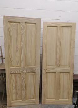 sanded pine doors