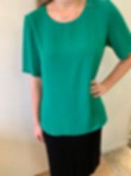 Plain Blouse green.jpg