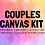 Thumbnail: Couples Canvas Kit