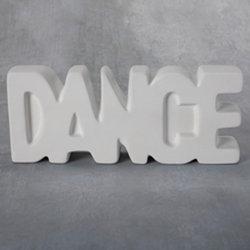 Large Dance Word
