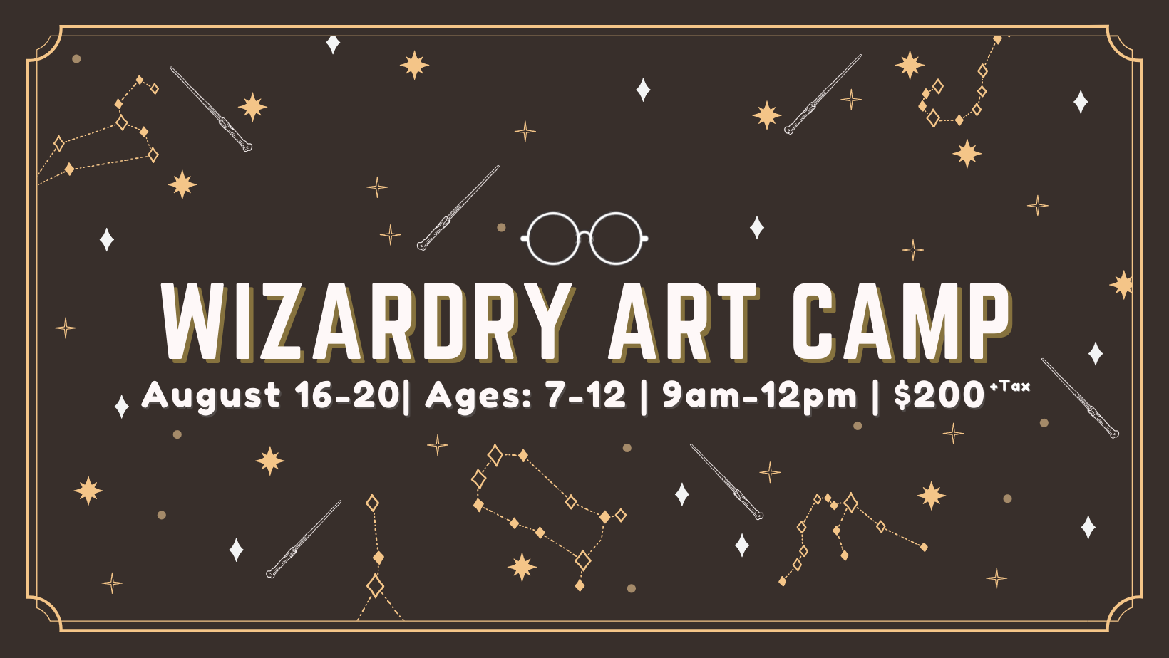 Wizardry Art Camp (sold out)