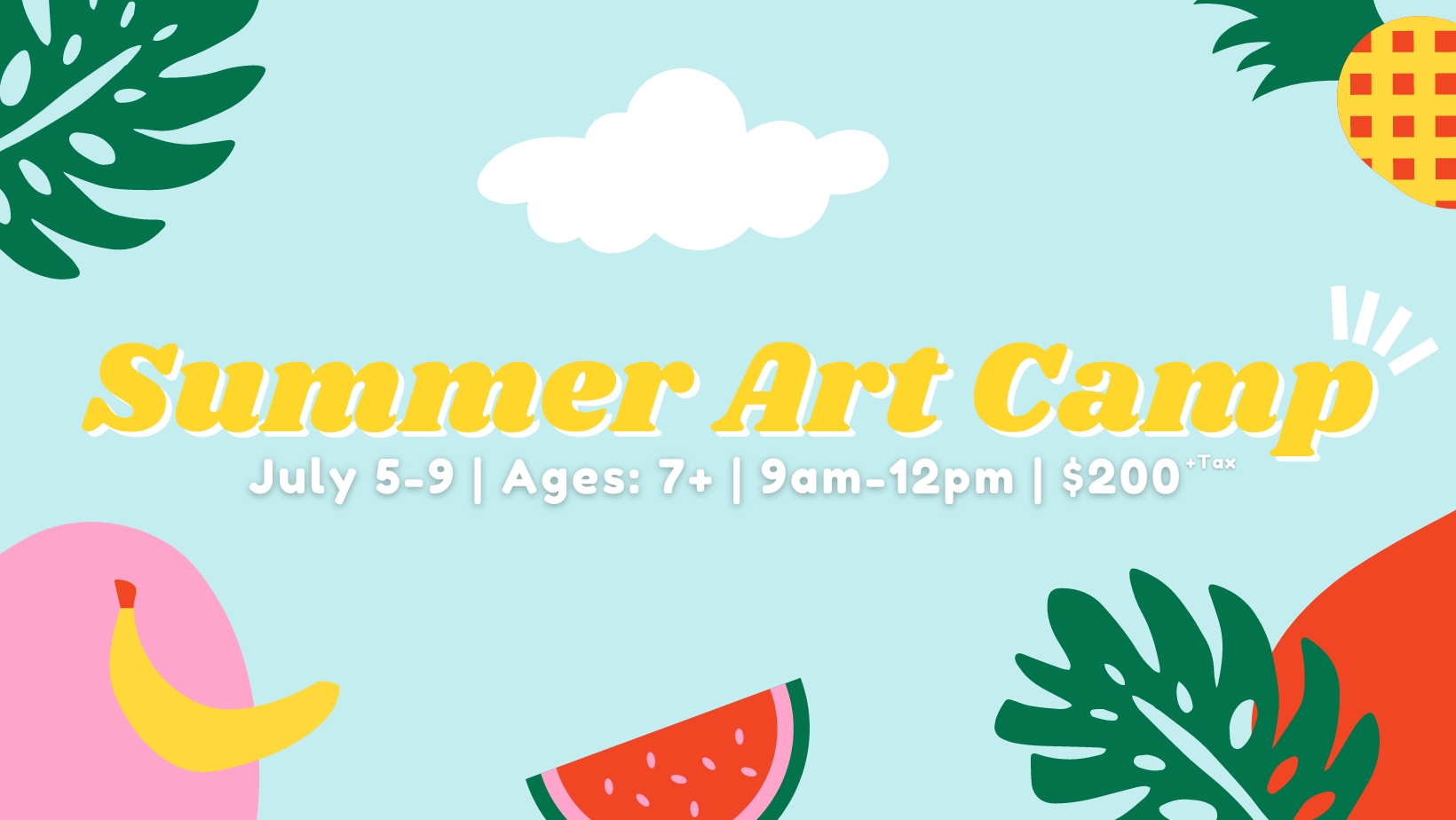 Summer Art Camp (sold out)