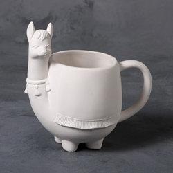 Perky Llama Mug