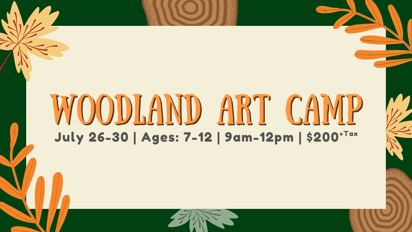 Woodland Art Camp (sold out)