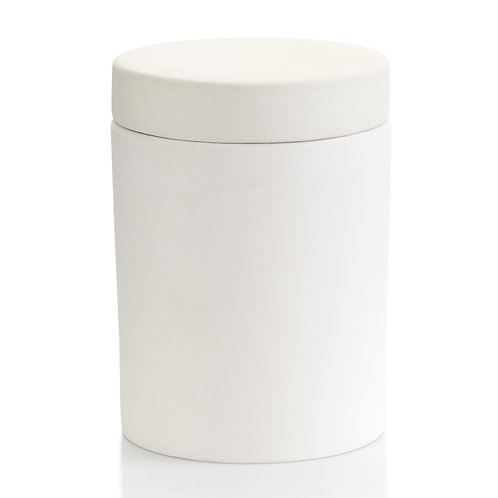 Flat Top Canister w. Rubber Seal