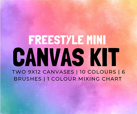 Freestyle 2 Pack:  9x12 Kit