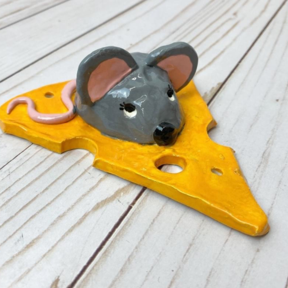 Cheesy Mouse Clay Class