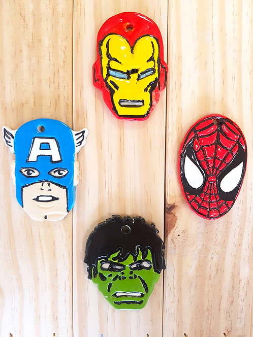 Superhero Ornament Pack