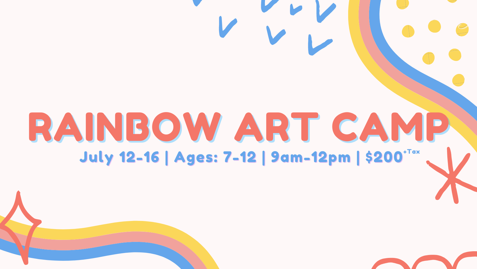 Rainbow Art Camp (sold out)
