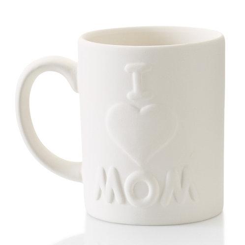 I ♡ Mom Mug